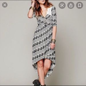 Free People New Romantics Lelani boho wrap dress